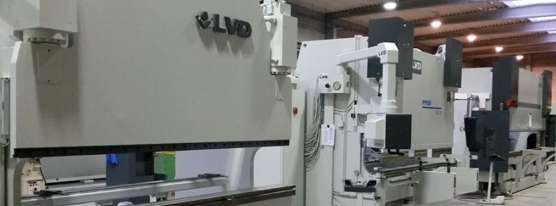 Maszyny LVD po modernizacji